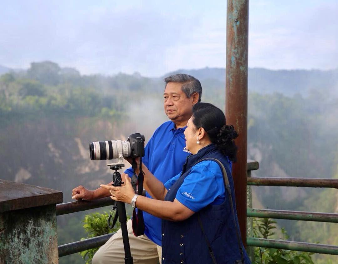Kerennya 10 Foto Hasil Jepretan Ani Yudhoyono Saat Traveling