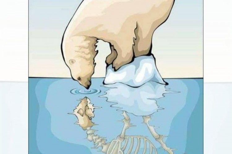 10 Ilustrasi Ini Sindir Mirisnya Keadaan Lingkungan Saat Ini