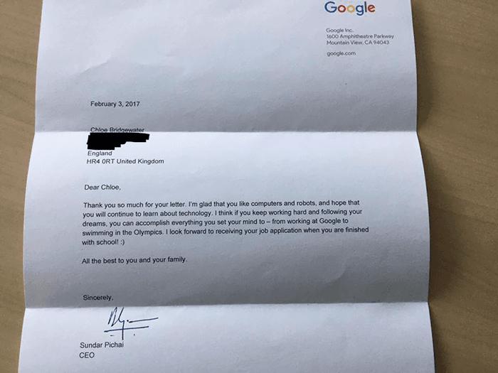 Luar Biasa! Anak 7 Tahun Melamar Kerja di Google!