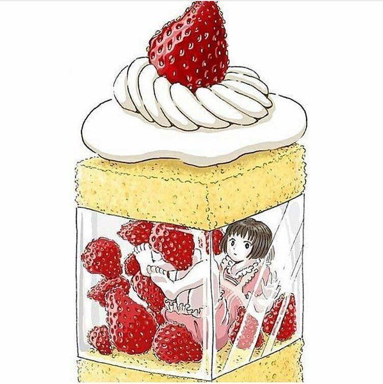 Ilustrator Asal Jepang Ini Buat Manga yang Terinspirasi dari Makanan