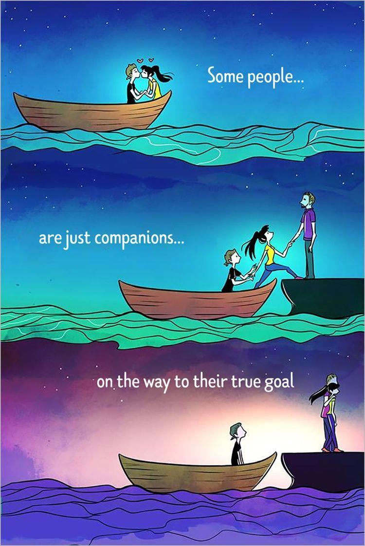 Tanpa Bicara, 10 Ilustrasi Ini Ungkap Realitas Percintaan Masa Kini