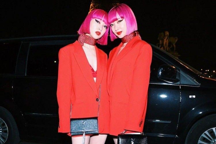 Hadiri Pekan Mode, Ini Gaya Ami dan Aya Suzuki yang Mencuri Perhatian