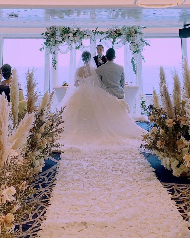 Sah! Yuanita Christiani Resmi Menikah di Atas Kapal Pesiar
