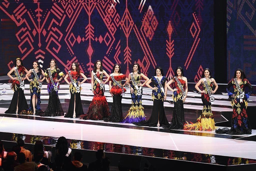 Mengintip Detail Gaun 11 Besar Puteri Indonesia 2019 Karya ANAZ