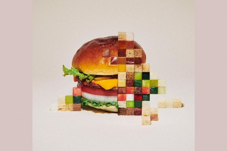 Begini Jadinya Kalau Makanan Dibuat Dalam Bentuk Piksel
