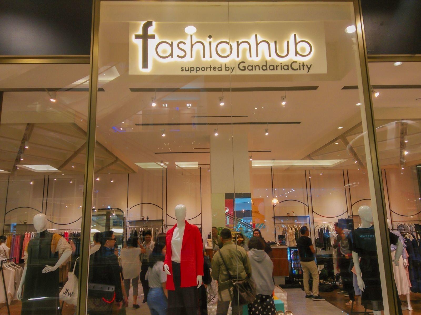 Resmi Buka di Gandaria City, Gerai Fashionhub Tawarkan Karya Lokal