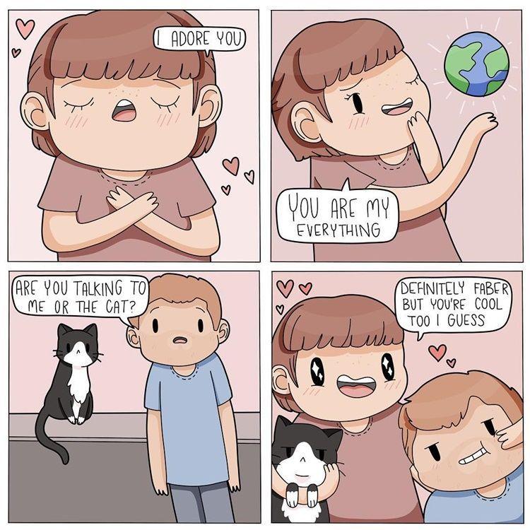 570+ Gambar Ilustrasi Hewan Kucing Terbaik