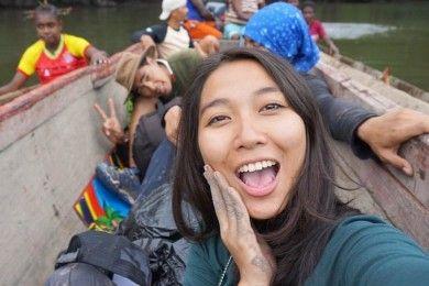 BFA2019: Pesona Chintya Tengens, Cewek Petualang yang Anti Jaim