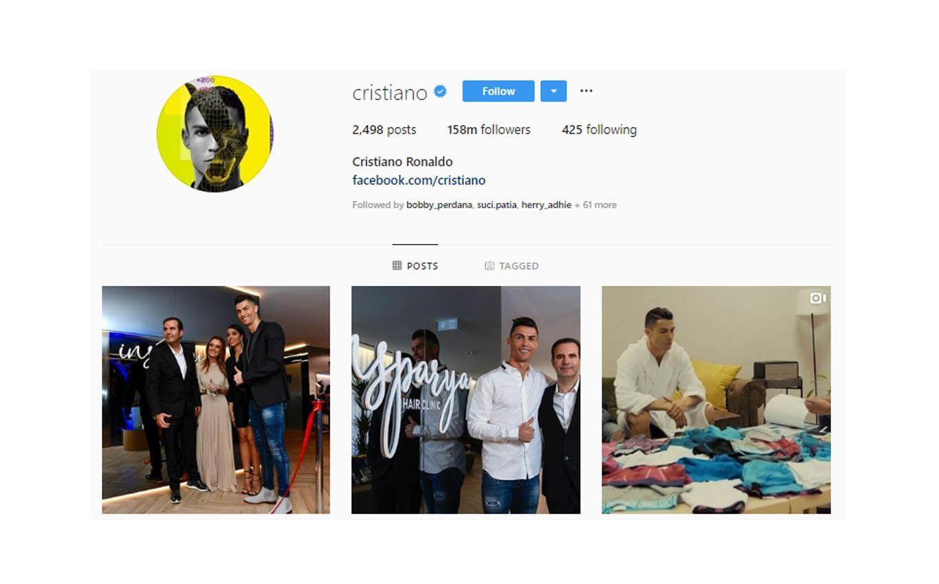 Bukan Selena Gomez, Pesepak Bola Ini Jadi Orang Nomor 1 di Instagram