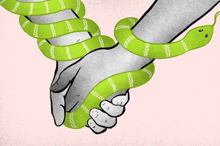 Kalau Pasanganmu Memiliki 7 Tanda Ini, Artinya Dia Posesif Berlebihan