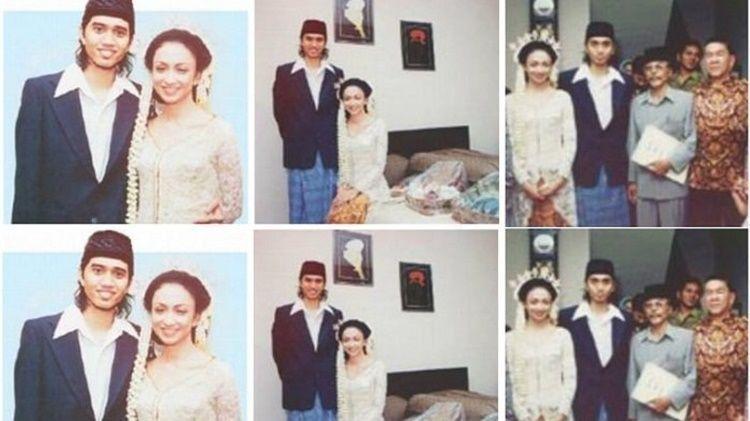 Penuh Kenangan, Ini 5 Foto Pernikahan Artis Belasan Tahun Lalu