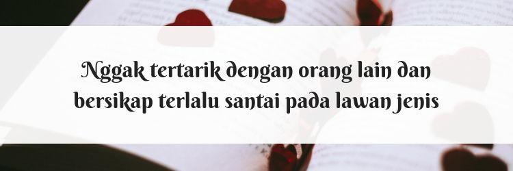 7 Tanda Kamu Sedang Melarikan Diri dari Cinta