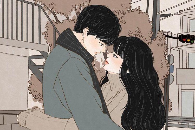 Lengket Terus! 10 Ilustrasi Ini Ungkap Romantisnya Jadi Pengantin Baru