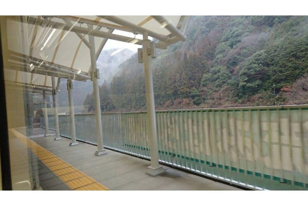 Stasiun Kereta di Jepang Ini Dibuat Khusus Untuk Menikmati Pemandangan