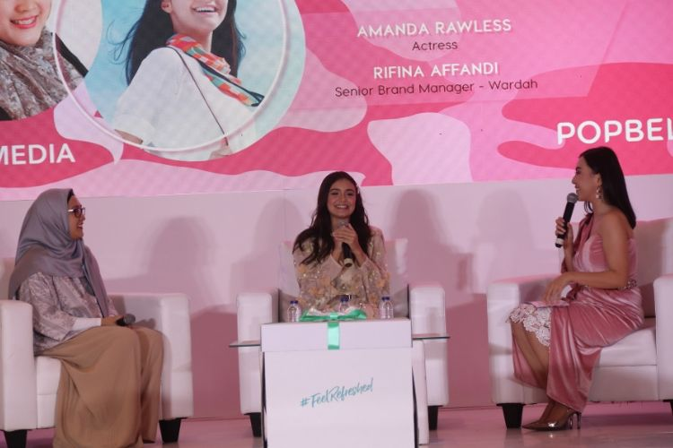 #BFA2019: Ini Skincare Favorit Amanda Rawles yang Cocok untuk Remaja