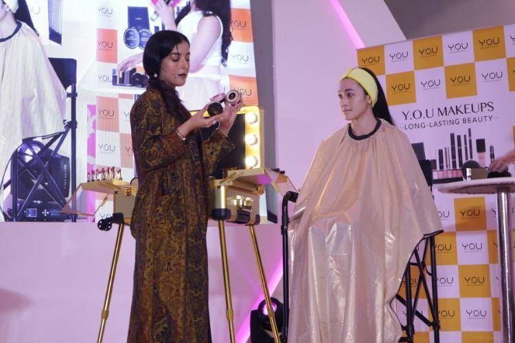 #BFA2019: Kurang dari Satu Jam, Ini Makeup Bold A la Tasya Farasya