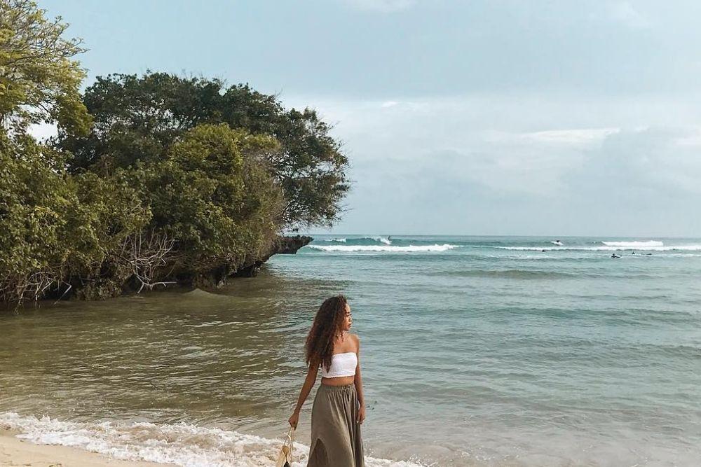 #BFA2019: Ngaku Anak Pantai, Ini Rekomendasi Pantai Dari Agnes Orzaya
