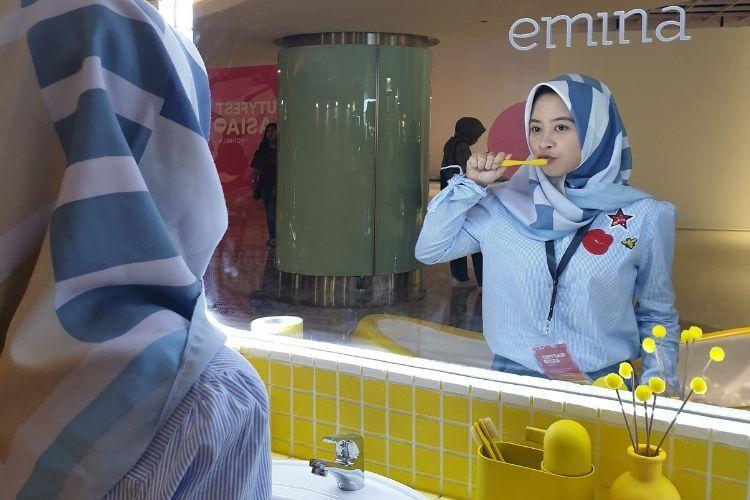 #BFA2019 Cara Menarik Perhatian Beauty Enthusiast a la Emina Cosmetics