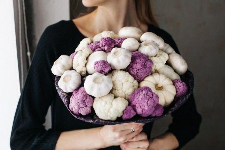 Menarik, 13 Buket Cantik ini Terbuat dari Makanan
