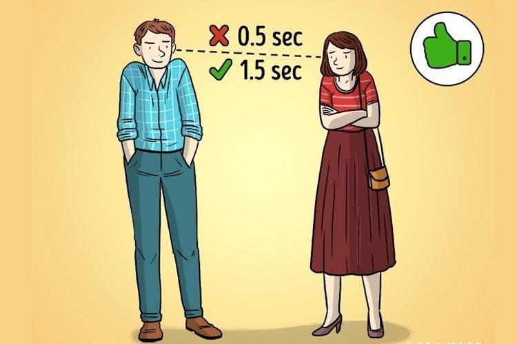 Tebak Perasannya padamu Lewat 7 Ilustrasi Bahasa Tubuh dalam Hubungan