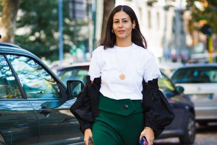 Ini Dia 6 Bawahan yang Bikin T-shirt Putihmu 180 Derajat Lebih Trendi