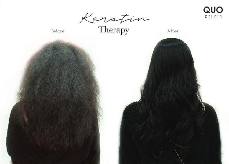 Keratin Therapy, Sulap Rambut Mengembang Jadi Lurus Tanpa Catokan