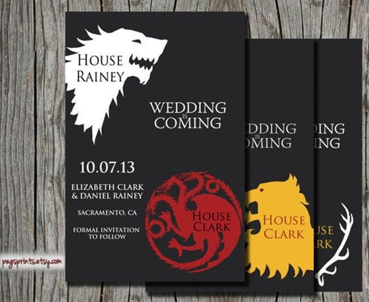 10 Ide Membuat Pesta Pernikahan Bertema Game of Thrones