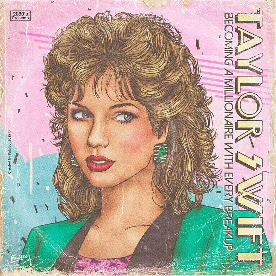 Bayangkan 10 Penyanyi Ini dengan Sampul Plat Retro 80'an, So Vintage!