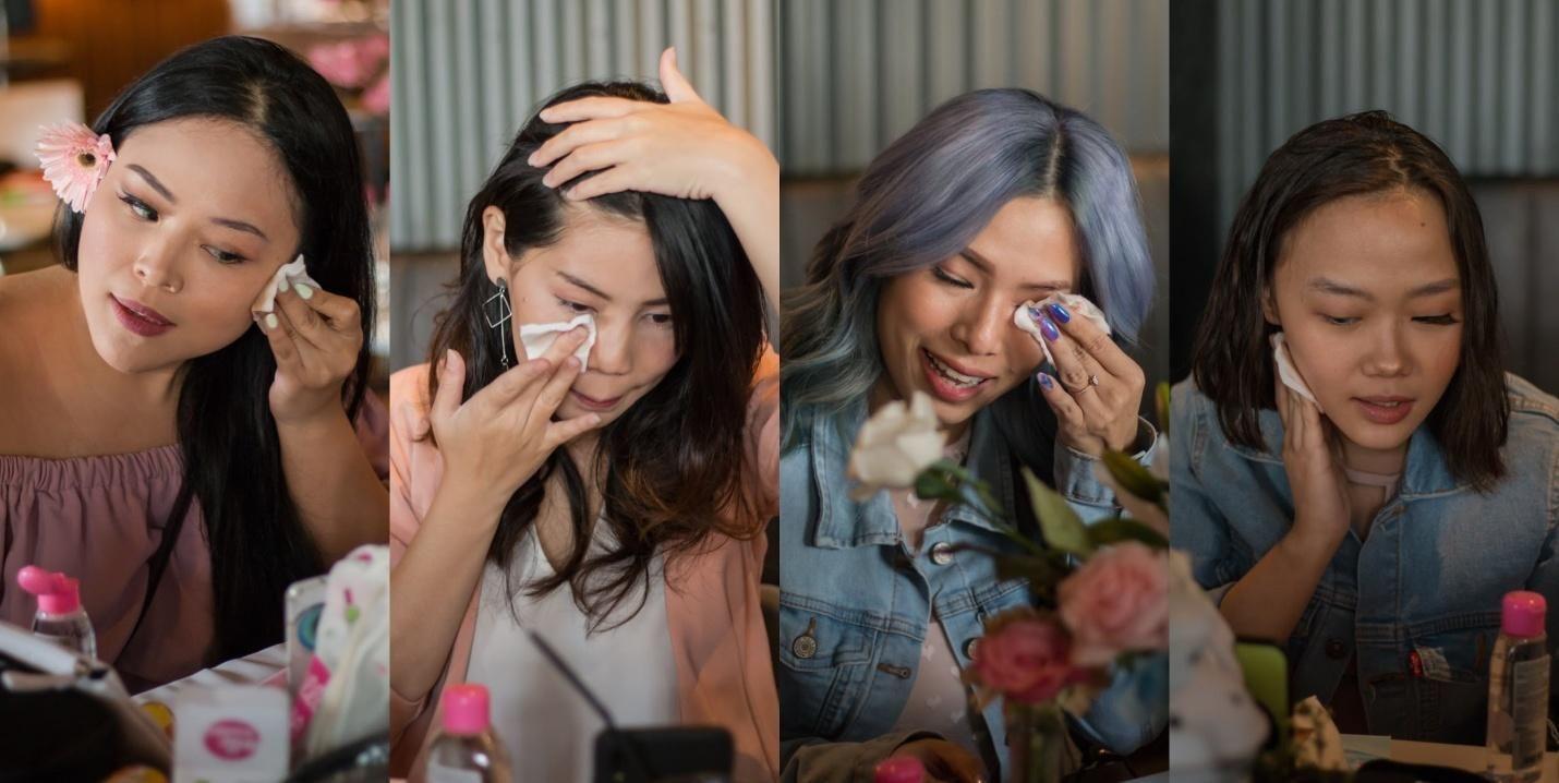 Seru Banget! OVALE Micellar Water Tantang Influencer Hapus Makeup