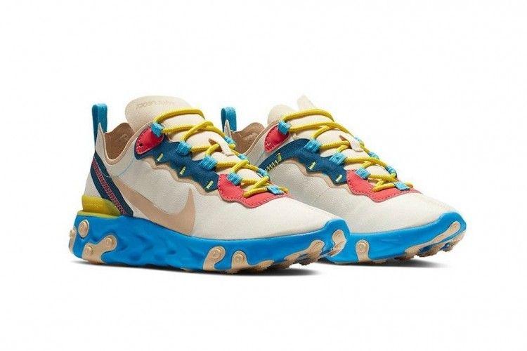 On Point! Nike React Element 55 Kini Hadir dengan Desain yang Retro