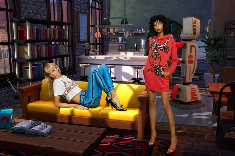 Unik, Kampanye Iklan Moschino Sengaja Dibuat Menyerupai The Sims