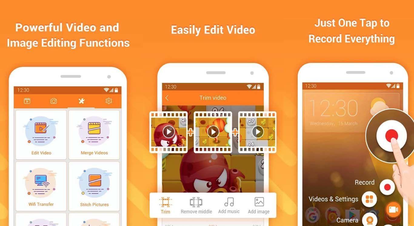 Aplikasi Perekam Layar Handphone Khusus Android