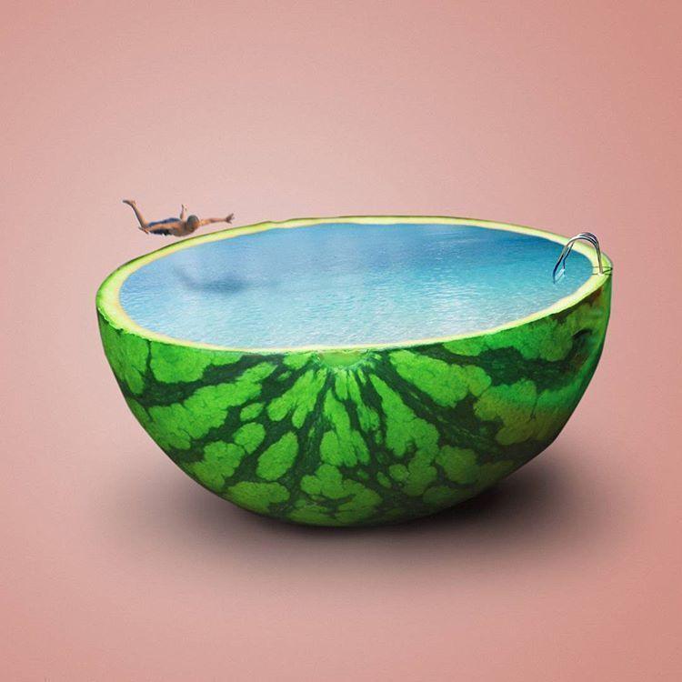 13 Seni 3D Art Bentuk Makanan yang Unik dan Makna Dibaliknya