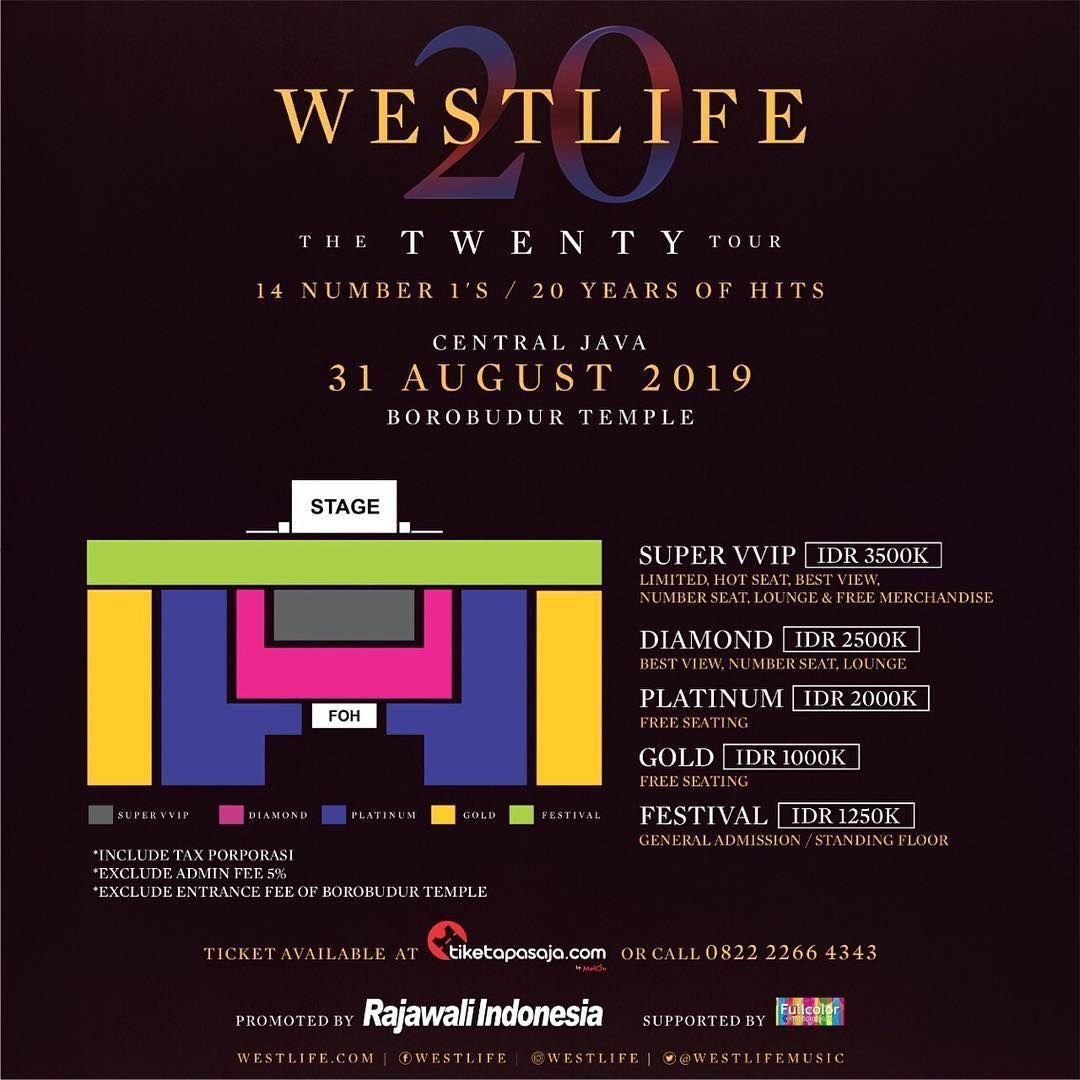 5 Hal yang Harus Kamu Tahu Tentang Konser Westlife di Indonesia