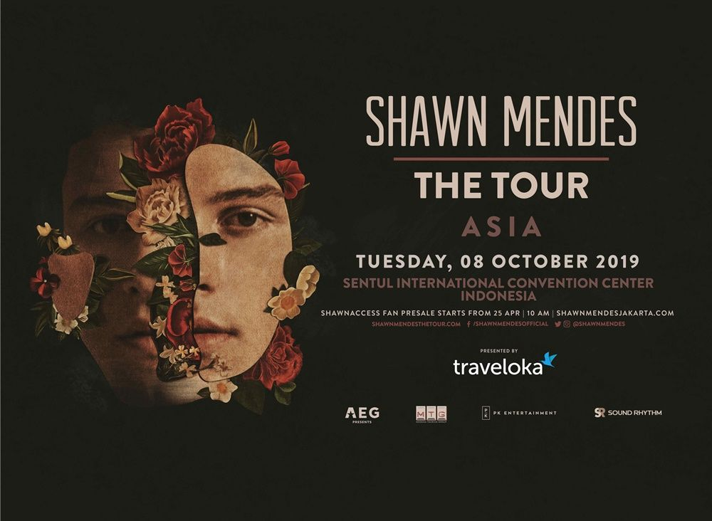 Konser Shawn Mendes di Jakarta Bakal Ramah Bagi Penyandang Disabilitas