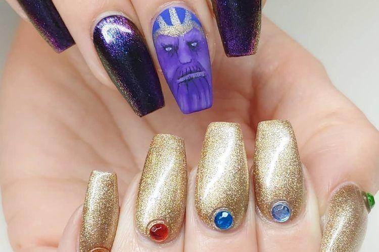 Keren Abis! 7 Nail Art ini Terinspirasi Film Avengers: Endgame