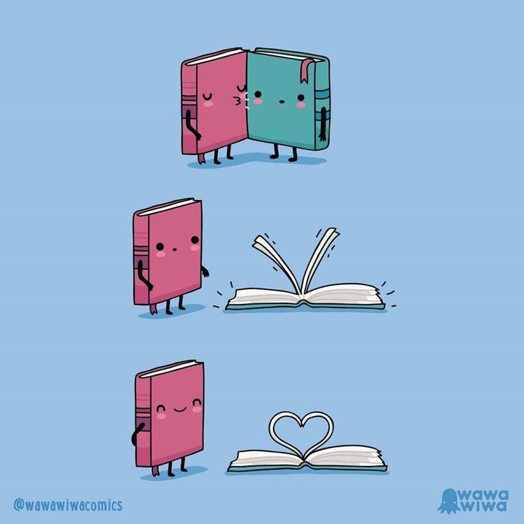 Gemas! 10 Ilustrasi Lucu Ini Gambarkan Benda Mati kalau Punya Pasangan