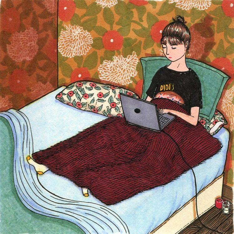 Mandiri, 9 Ilustrasi Ini Buktikan Bahagianya Jadi Perempuan Single