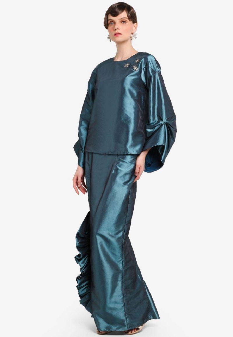 Lebih Trendi! Intip 5 Model Baju Kurung Terbaru di Tahun 2019