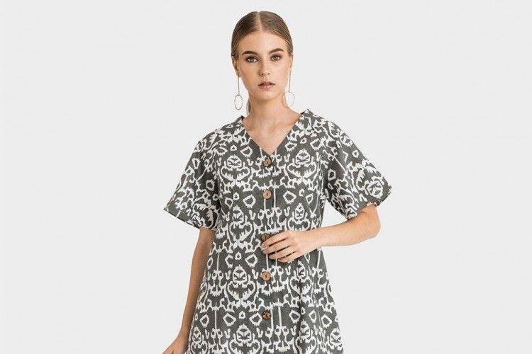 9 Model Baju Batik Modern Wanita Terbaru 2019 Yang Kece