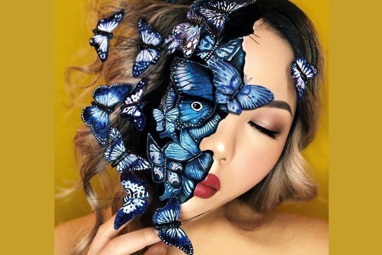 7 Karya Keren Mimi Choi, Make Up Artist yang Merias Ezra Miller