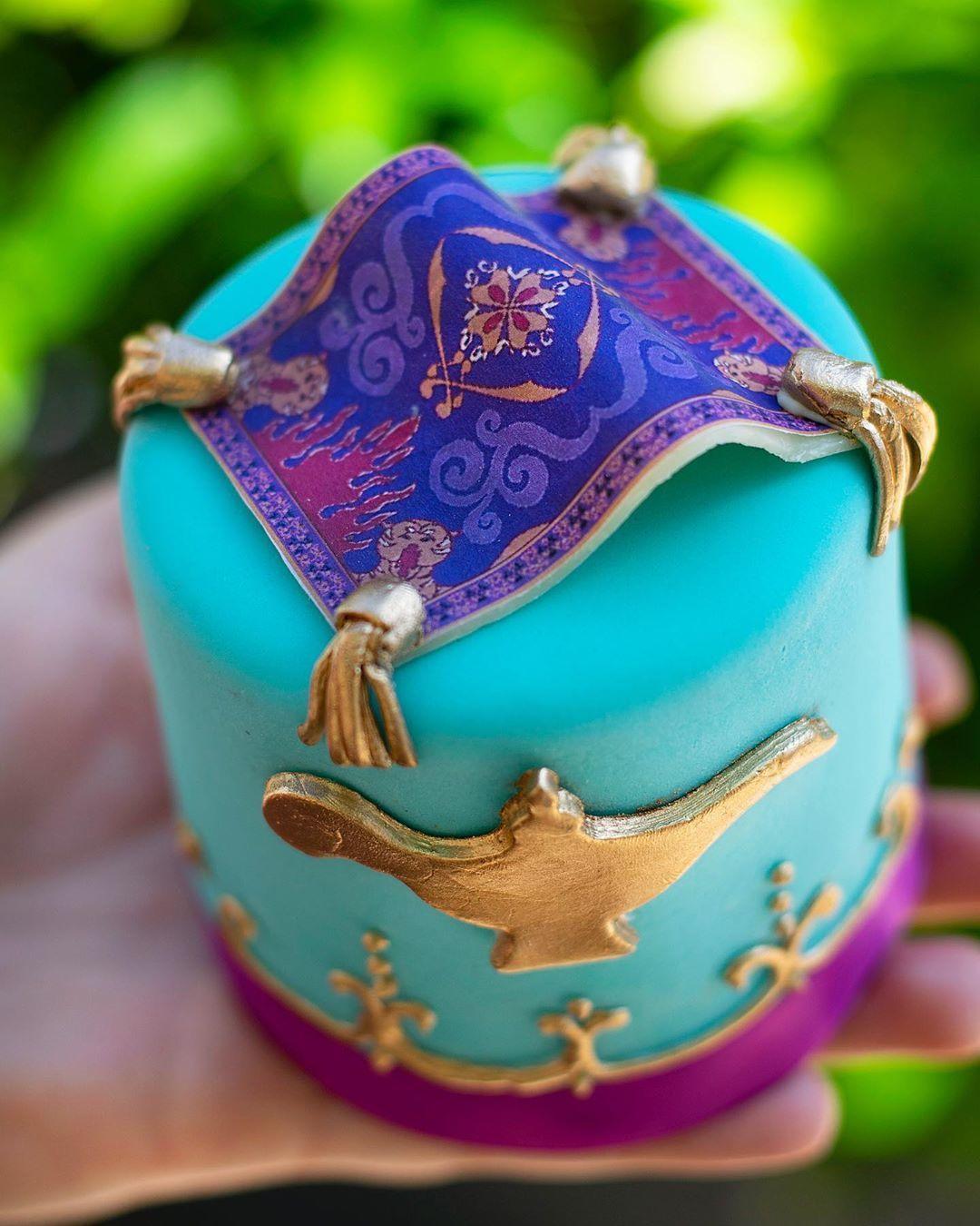 Sambut Film Aladdin, Disney Luncurkan Cupcake Super Gemas