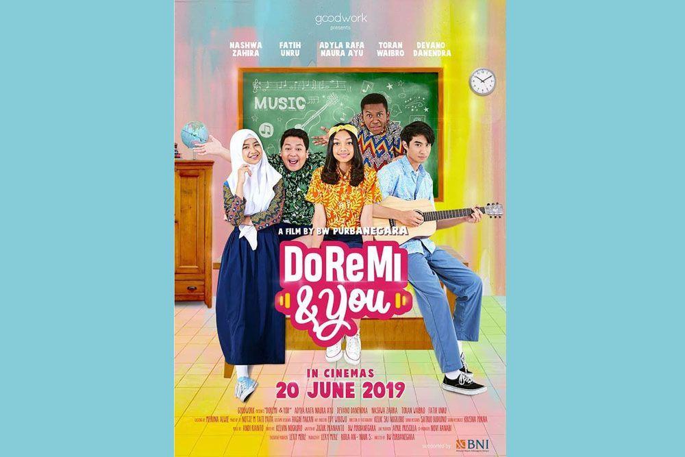 DoReMi & You, Film Remaja yang akan Temani Liburan Sekolah Nanti