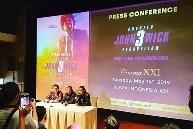 5 Fakta Unik Film 'John Wick 3' yang Bikin Indonesia Patut Bangga