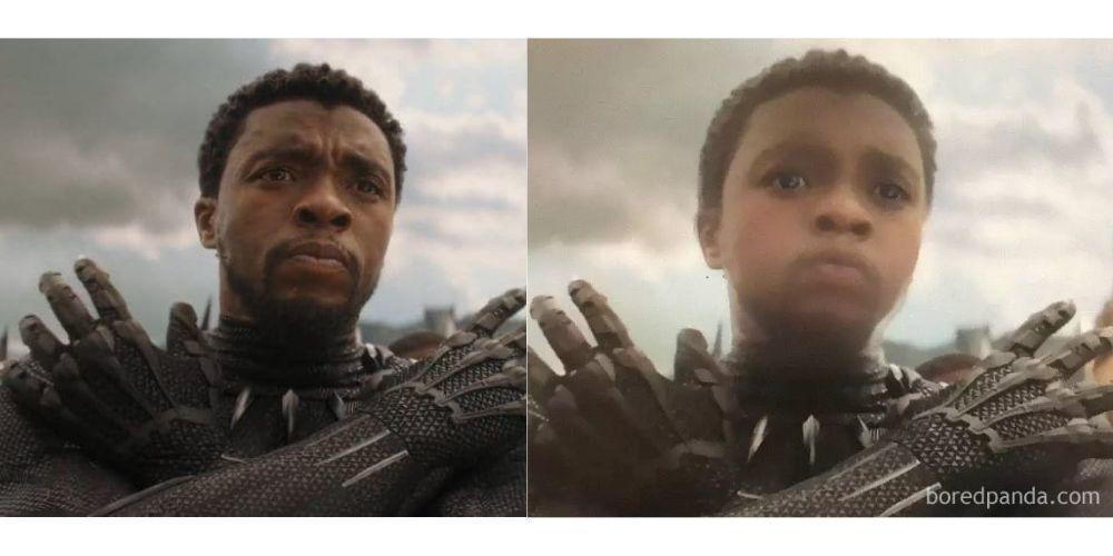 Begini Lucunya Kalau 25 Wajah Superhero Avengers Berubah Menjadi Bayi