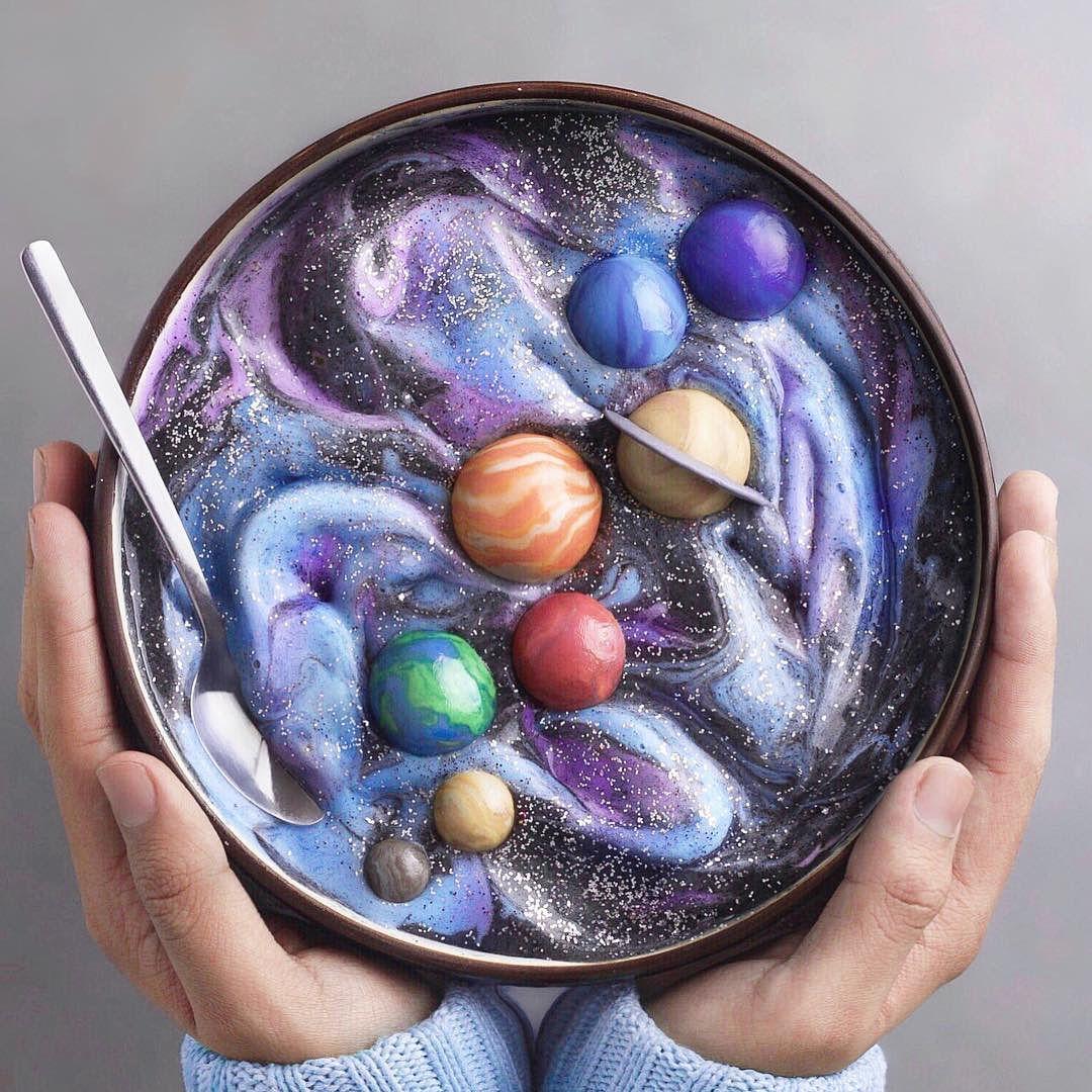 Varian Makanan yang Terinspirasi dari Galaksi