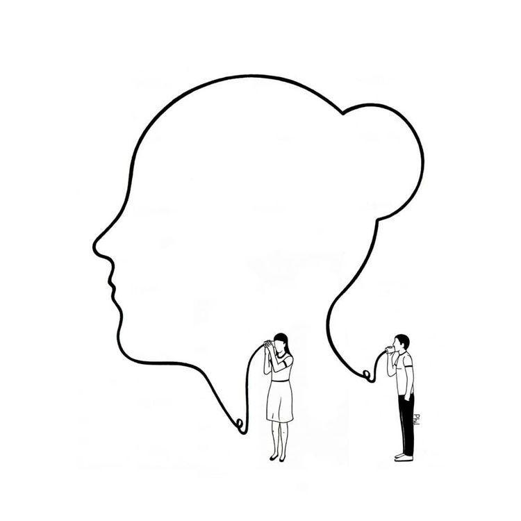 9 Ilustrasi Kreatif tentang Makna Cinta, Menusuk Banget!