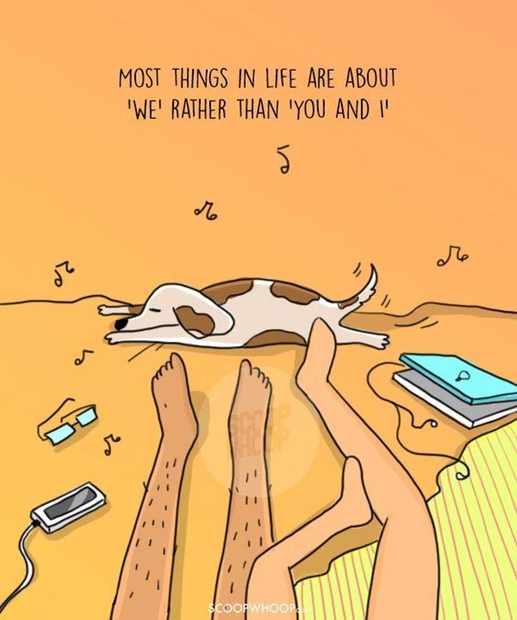 7 Ilustrasi Lucu Ini Hanya Dirasakan Pasangan yang Sudah Lama Pacaran