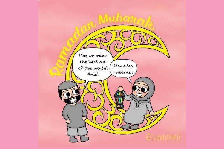 9 Ilustrasi Kehidupan Pasangan Muslim yang Romantis dan Menginspirasi