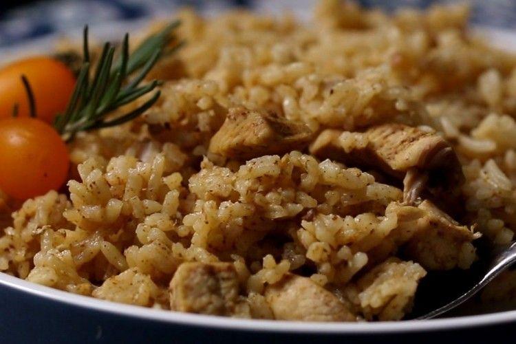Resep Nasi Ayam Rendang